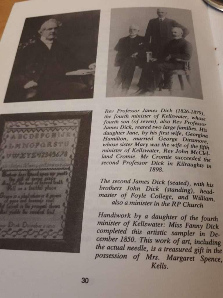 Kellswater History - Kellswater Reformed Presbyterian Church